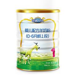 多加多可诺贝儿羊奶粉1段