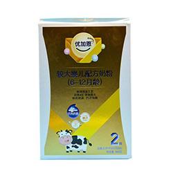 龙王优加恩有机奶粉2段