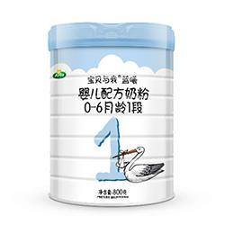 宝贝与我蓝曦1段奶粉