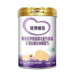 优博敏佳乳蛋白部分水解配方特配粉